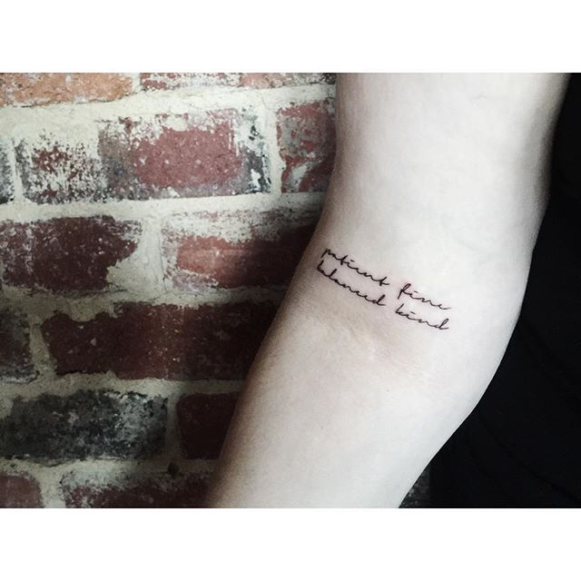 Best 25+ Song Lyric Tattoos Ideas On Pinterest