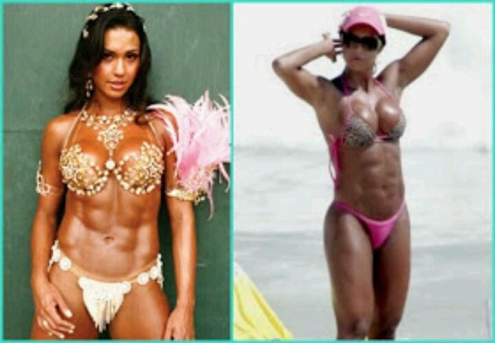 Gracyanne Barbosa Samba Queen Universal Fitness