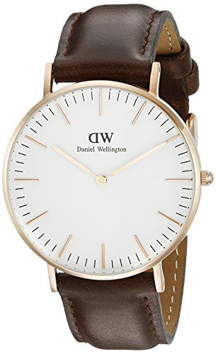 Women's Wrist Watches - Daniel Wellington Womens 0511DW Classic Bristol Analog Display Quartz Brown Watch >>> Find out more about the great product at the image link.