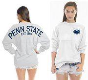 Penn State Est 1855 Spirit Jersey White http://www.nittanyoutlet.com/womens_apparel_c456.htm
