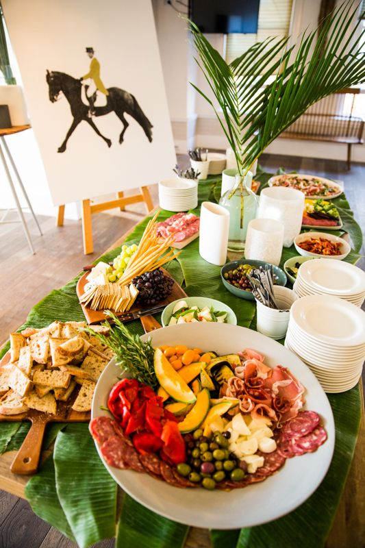 Antipasto Station at Watsons Bay Boutique Hotel. Photography by GM Photographics.