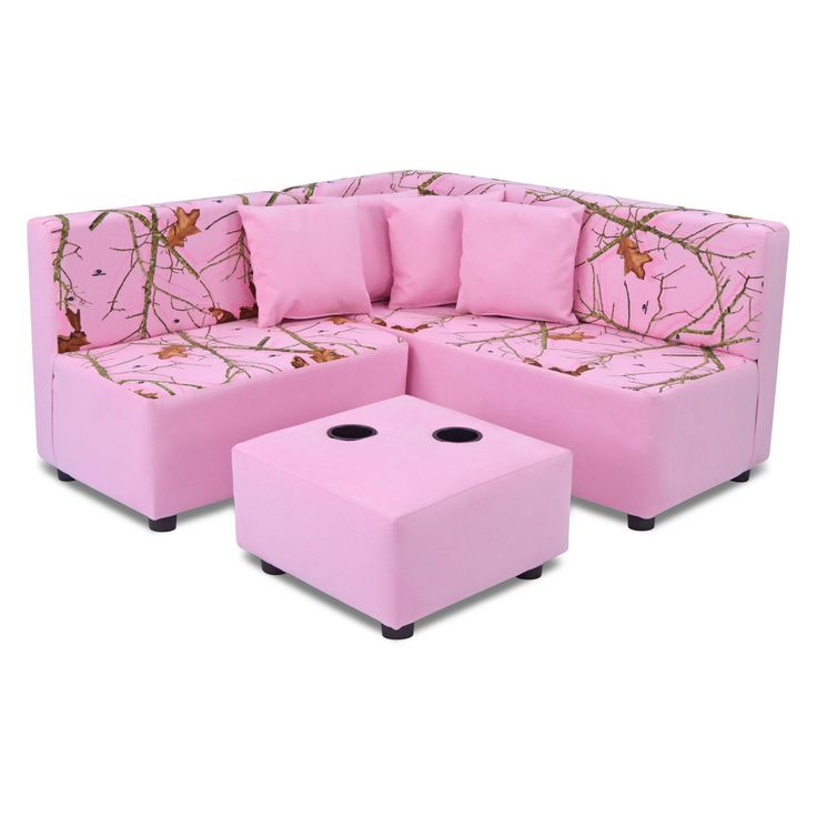 Kangaroo Kids Sectional Set - Mossy Oak Nativ Living Pink - 1250MOLP