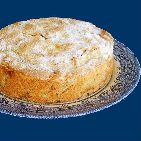 One Perfect Bite: Irish Apple Cake~T~ Love her story about St. Patrick planting apples in Ireland.