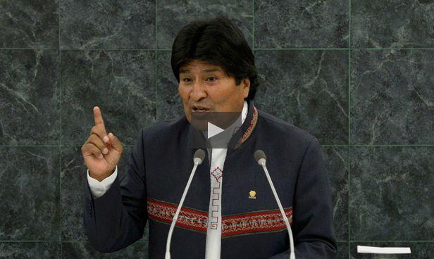 08.07.14: Evo Morales califica como 'contradictoria' decisión de Chile de impugnar competencia de La Haya | Política | LA TERCERA