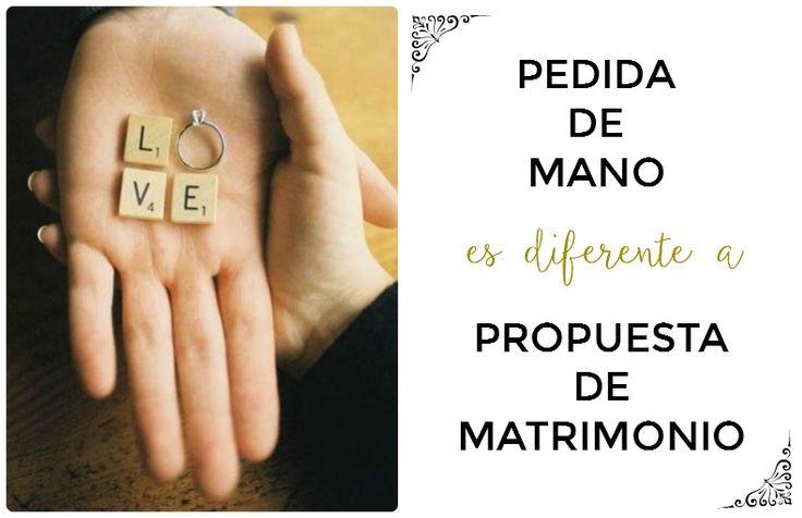 No es lo mismo la propuesta de matrimonio que la pedida de mano! #protocolosocial #pedidademano