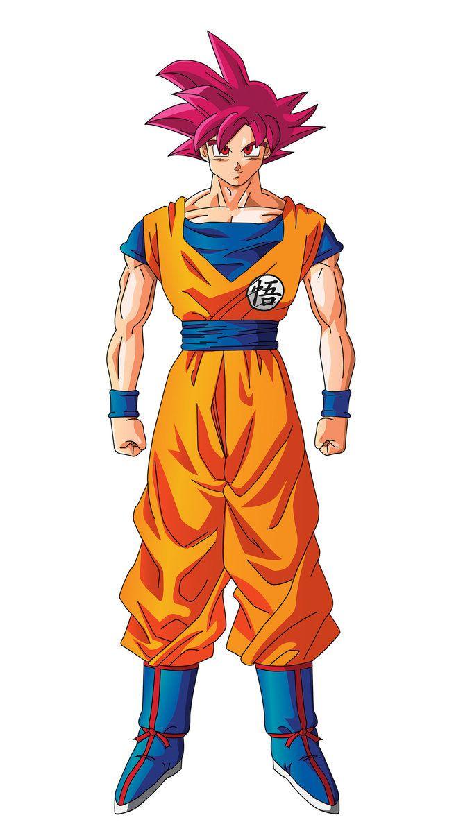 Goku - Super Saiyajin God - Dragón Ball Super