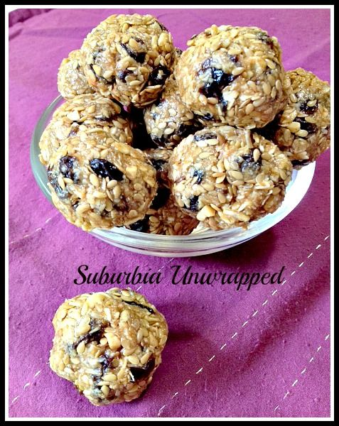 No Bake Oatmeal Raisin Energy Balls...I have made these with Shaklee Energizing Soy Protein powder, too (available through an independent distributor).