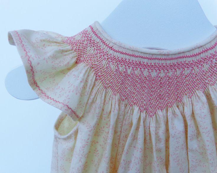 Smocked Dress Baby Girl, Smocked Dress, Smocked Easter Dress, Smocked Bishop Dress Size 2 by CalicoThreadsCo on Etsy https://www.etsy.com/listing/502313005/smocked-dress-baby-girl-smocked-dress