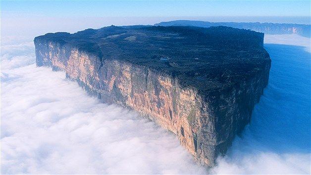 Gunung Roraima di Taman Nasional Canaima, Venezuela