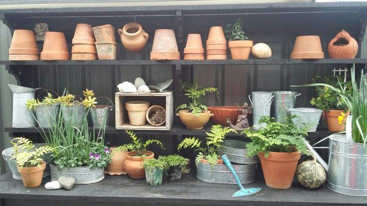 My new potting bench