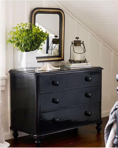 Best 10 black dressers ideas on pinterest black dresser makeovers bedroom dresser decorating for Black bedroom dressers and chests