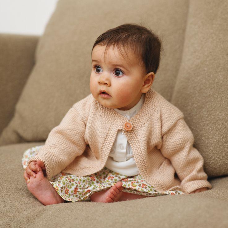 Encantador Patons Patrones Que Hacen Punto Libre Para Bebés Motivo ...