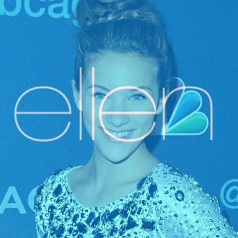 Today I'm on The Ellen Show on NBC (at 3pm or 4pm depending on your location) ✨✨
