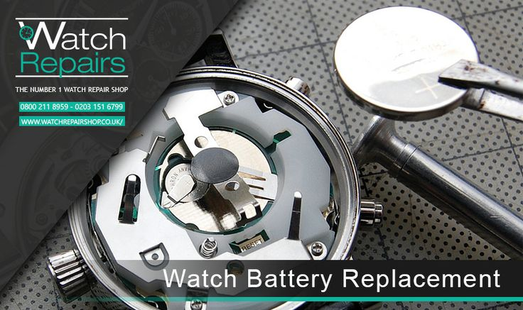 Watch Battery Replacement – Prices start from £16.95  In many cases all that is required to get your watch back to life is a simple b...