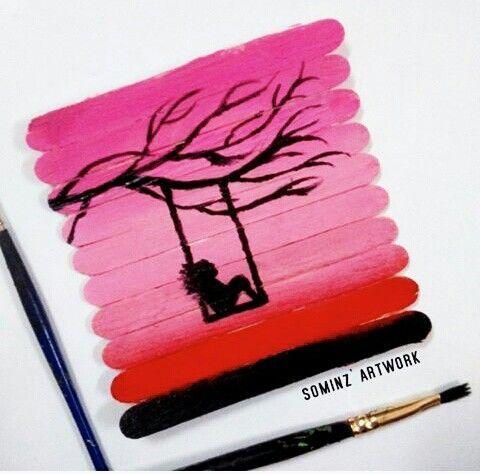 Best 25 popsicle stick art ideas on pinterest popsicle for Popsicle stick creations ideas