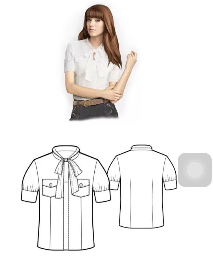 Shirt with bow - Sewing pattern. Price: USD6 Simple blouse with bow - European sizes 36 to 46 (38 is not available) - PDF format to be sent via email upon payment (within 1 – 2 days) - Print: 1:1 typically on A4 size, please print on actual 100% size. No instruction, but with notes in Chinese. Please email thedress101@gmail.com and provide your email address and selected patterns to be purchased.
