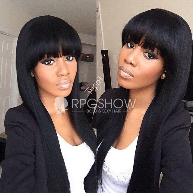 Incredible 1000 Images About Bangs On Pinterest Bobs Full Weave And Kelly Short Hairstyles Gunalazisus