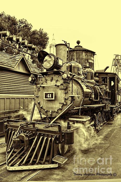 Old Western Railroad Photograph  - Old Western Railroad Fine Art Print
