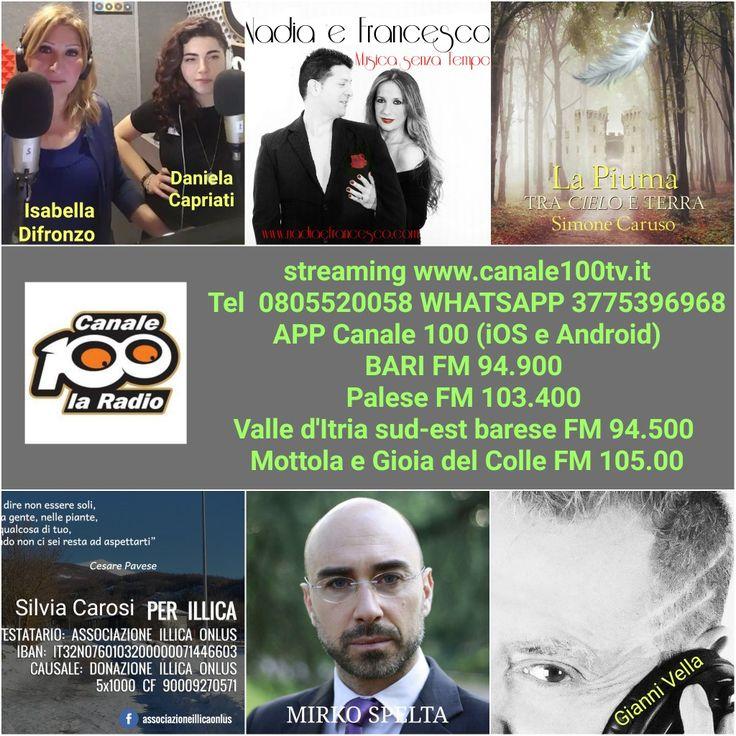 Domani ore 10.00 su www.canale100tv.it