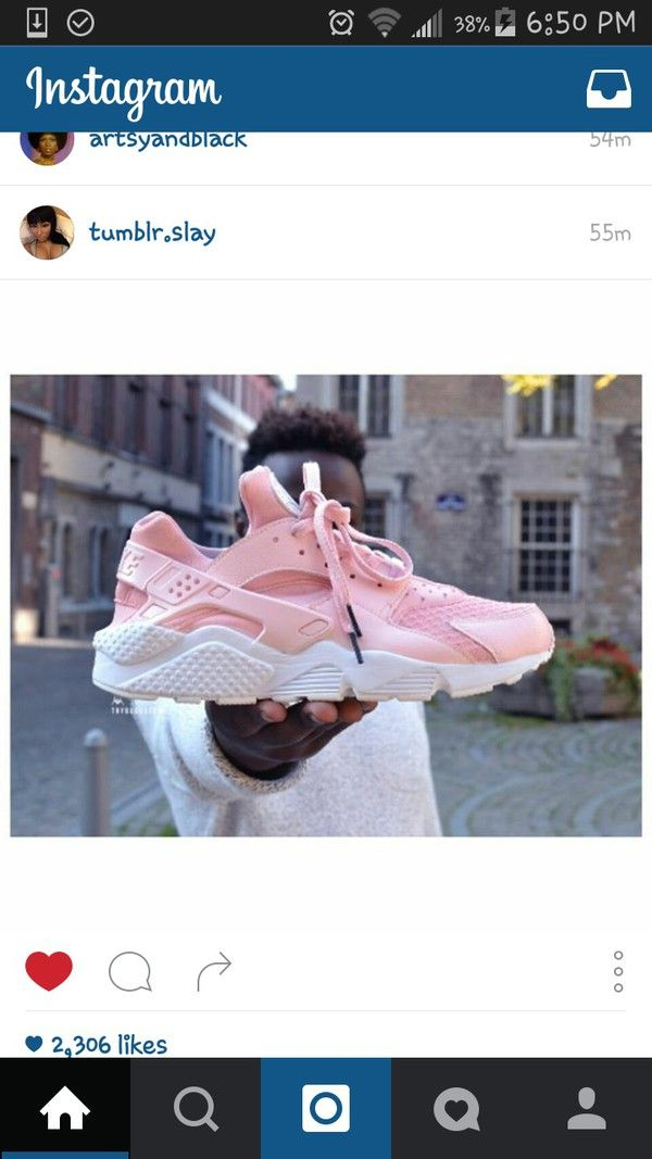 83f4816cf79c Baby Pink Rose Nike Air Huarache