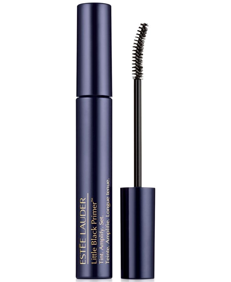Estee Lauder Little Black Primer: Tints lashes until you remove for an ultra natural look. Use alone or under mascara.
