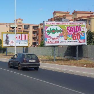 Cagliari, Globo