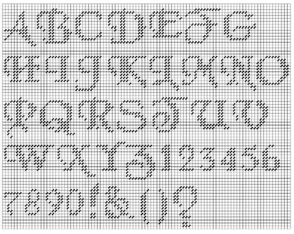 137 Best Alphabet Pc Images On Pinterest Plastic Canvas