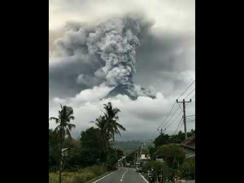 Gunung Agung - Bali Pray For Bali - Dumogi sami Rahayu Rahajeng Semeton Bali