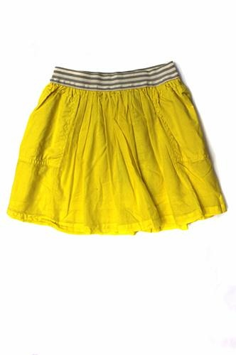 The all new BELLEROSE collection!!! Must see! Bellerose Yellow Flare Skirt