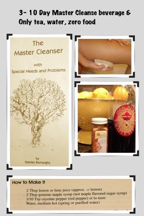 Master cleanse recipe