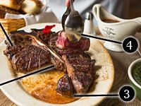 How An Iconic #Steak Gets Made: The Porterhouse At Peter Luger #Steakhouse In New York City.  - Eater