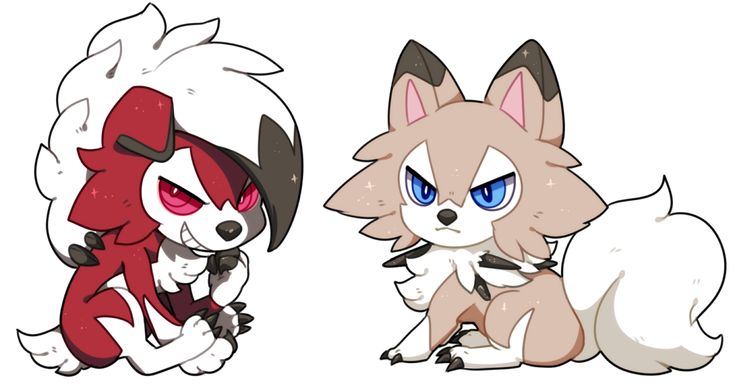 Lycanroc by hereiskoko.deviantart.com on @DeviantArt