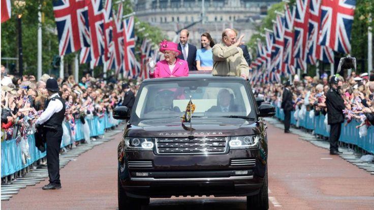 Drei Tage Party gehen zu Ende |Picknick-Parade für die Queen - Royals - Bild.de