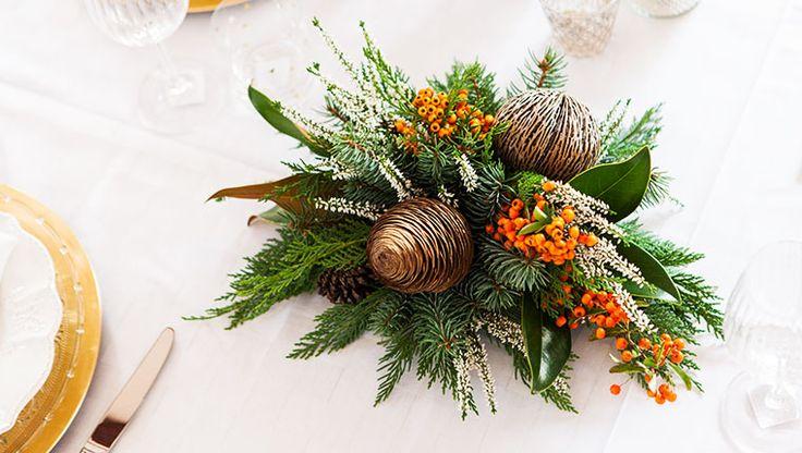 Ci sono soluzioni bellissime, tante anche molto semplici, per dare un tocco in più alla nostra tavola delle feste.