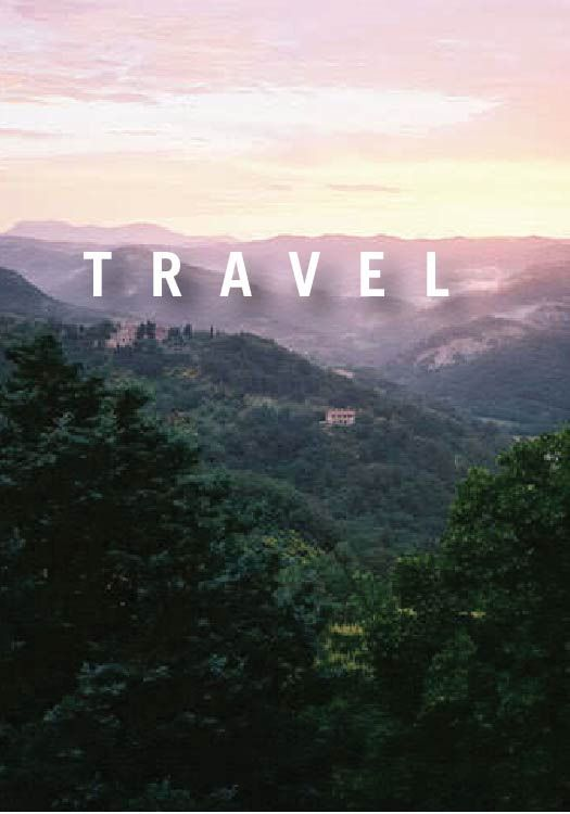 travel while you're young and free.