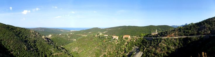 Panorama vallata Ingurtosu