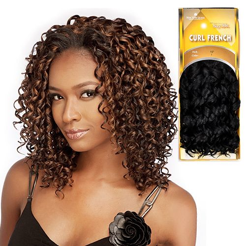 Say Me Human Hair Blend Weave French Curl Hair Ideas