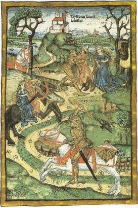 Szent László és a kun ‒ az üldözés és a küzdelem egy képbe sűrítve
