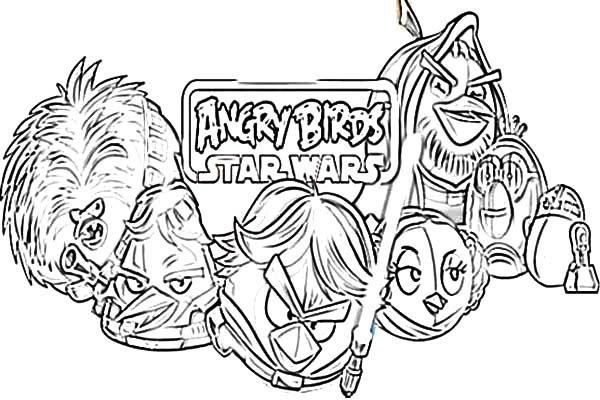 Jogo Desenhos Para Colorir Angry Birds Star Wars No Jogos: 25 Best Video Game Coloring Pages Images On Pinterest