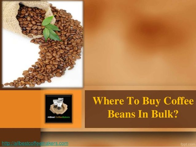 Do you ever wonder about where to buy coffee beans in bulk? If you own a coffee shop or you would want to save up on your monthly consumption then buying in bulk is a good choice. As you know, stores often give special discounts to anyone who buys their products in big quantity. Visit allbestcoffeemakers.com for more affordable coffee makers and coffee related products online.