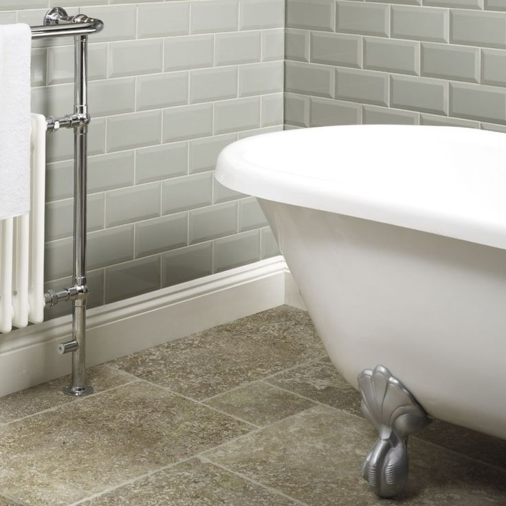 metro tiles | Tiles > Bathroom Tiles > Metro Sage Wall Tile 10x20cm