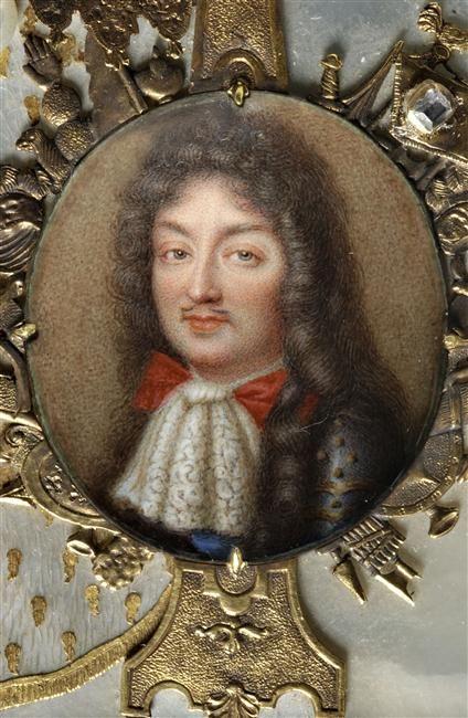 Portrait de Philippe d'Orléans dit Monsieur, frère du roi Louis XIV Anonyme Paris, musée du Louvre, D.A.G.