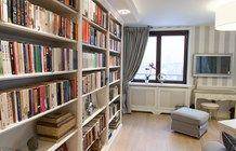 Domowa biblioteka - zdjęcie od Artystyczna Manufaktura - klasyczne meble na wymiar