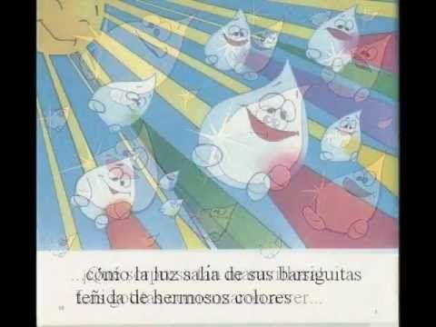 #Cuentostube Las gotitas de agua y el arco iris #isFamilyFriendly