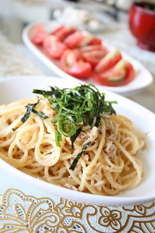 How to Make Wahoo (= Japanese Style) Mentaiko Roe Pasta|明太子パスタ