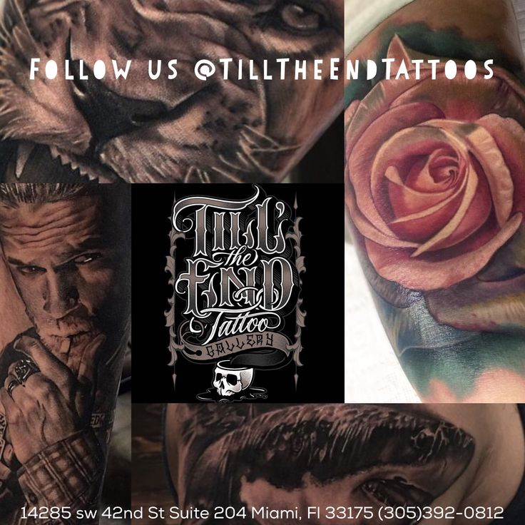Miami best tattoo shop till the end tattoo gallery 14285