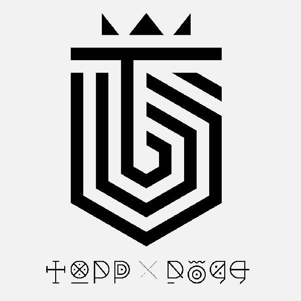 Topp Dogg - logo