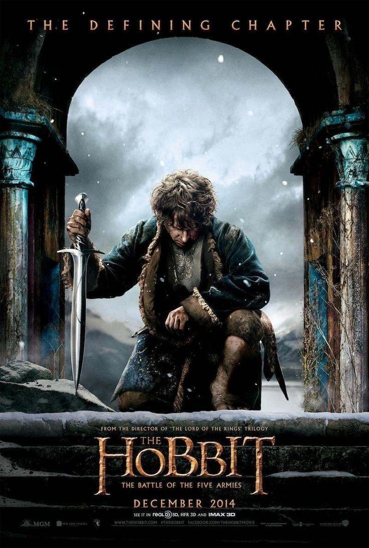The Hobbit The Battle of the Five Armies Hobbit Beş
