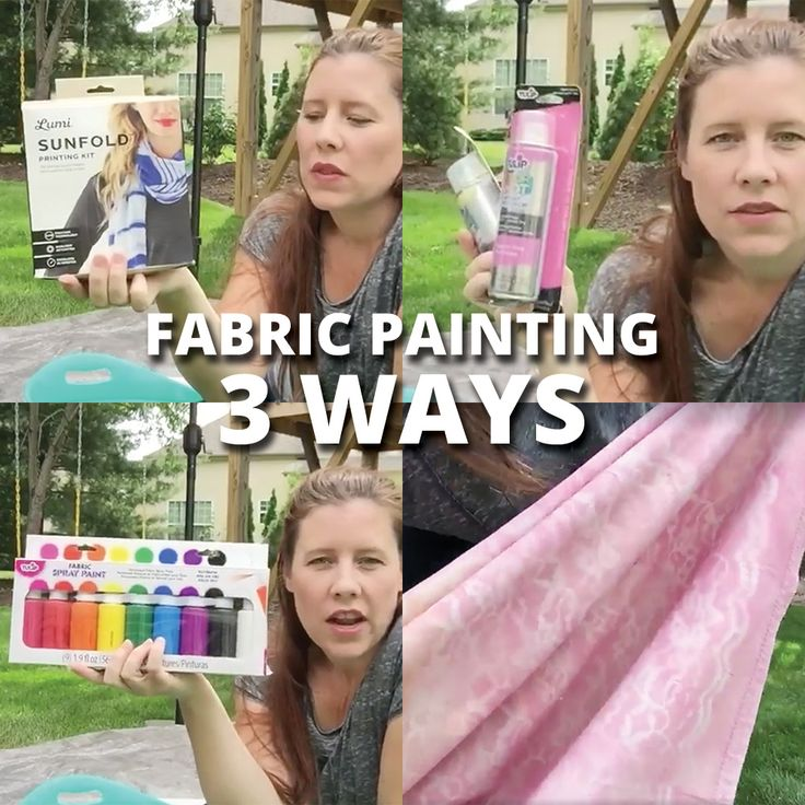 Fabric Painting and Dyeing Three Ways