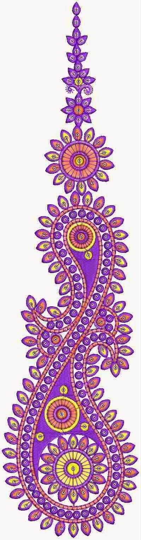 Tweeling Paisley en Floral werk Patch